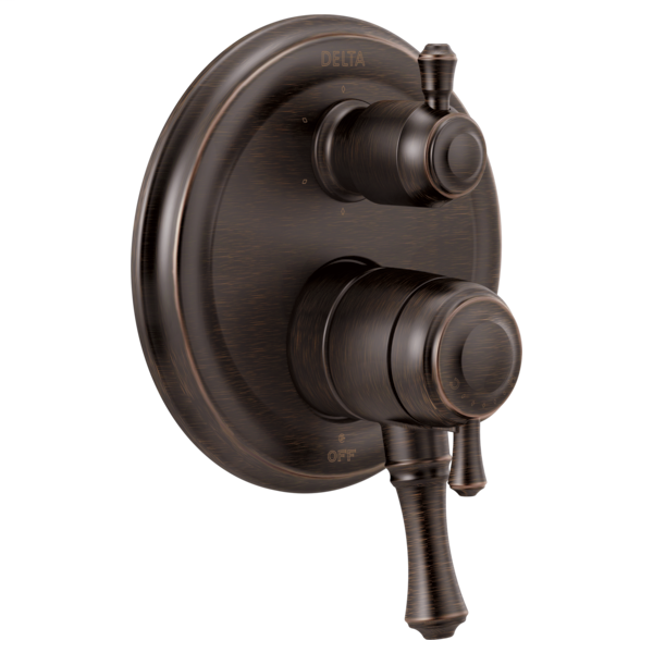 DELTA® T27997-RB Monitor® 17 6-Setting Traditional Valve Trim, Venetian Bronze