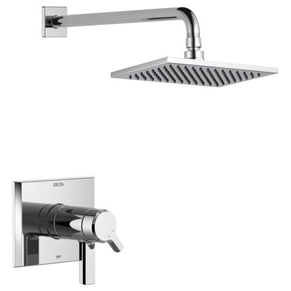 DELTA® T17T299 TempAssure® 17T Shower Trim, 2.5 gpm Shower, Polished Chrome