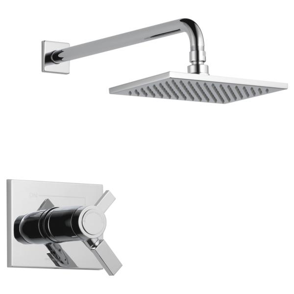 DELTA® T17T253 TempAssure® 17T Shower Trim, 1.75 gpm Shower, Polished Chrome