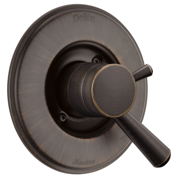 DELTA® T17093-RB Monitor® 17 Valve Trim Only, 2 gpm Shower, Venetian Bronze