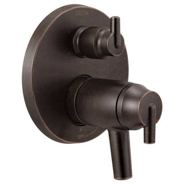 DELTA® T27T959-RB TempAssure® 17T Contemporary Valve Trim, Venetian Bronze