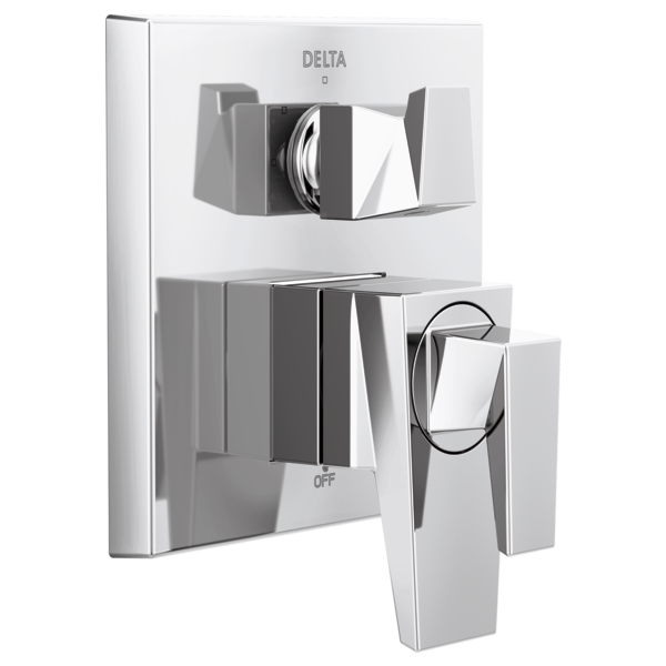 DELTA® T27843 Monitor® 17 Series Valve Trim With 3-Setting Integrated Diverter, 5.8 gpm Valve, Polished Chrome