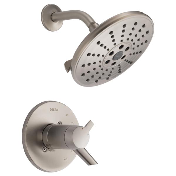 DELTA® T17T261-SSH2O TempAssure® 17T Shower Trim, 1.75 gpm Shower, Stainless Steel