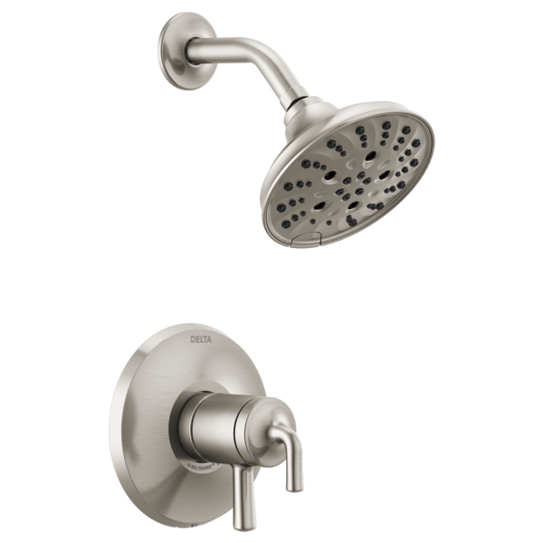 DELTA® T17233-SS Monitor® 17 Series Shower Only Trim, 1.75 gpm Shower, Brilliance® Stainless Steel