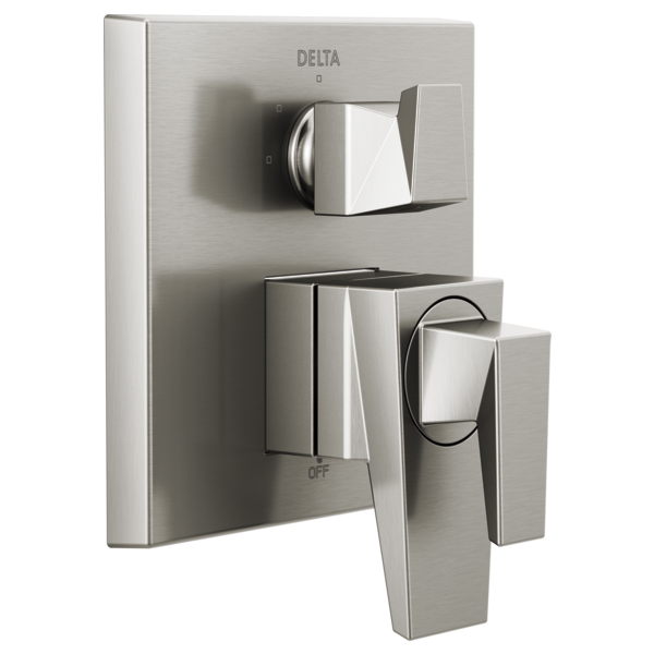 DELTA® T27843-SS Monitor® 17 Series Valve Trim With 3-Setting Integrated Diverter, 5.8 gpm Valve, Brilliance® Stainless Steel