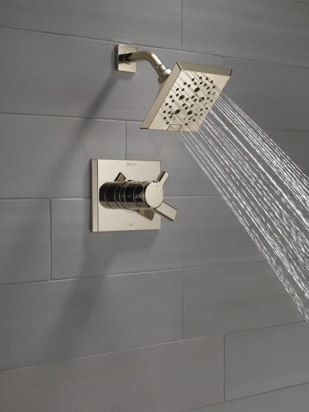 DELTA® T17299-PN Monitor® 17 Shower Trim, 1.75 gpm Shower, Brilliance® Polished Nickel