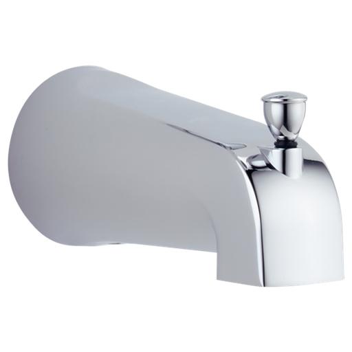 Tub Spout - Pull-Up Diverter - Chrome