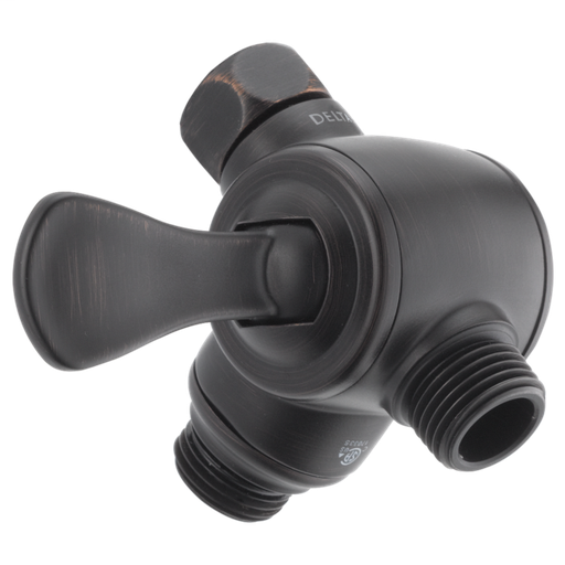 3-Way Shower Arm Diverter for Hand Shower - Venetian Bronze