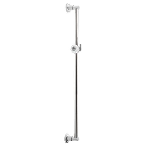 """30"""" Adjustable Pin Mount Wall Bar - Chrome"""