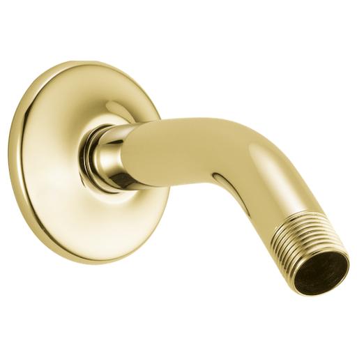 Shower Arm & Flange - Polished Brass