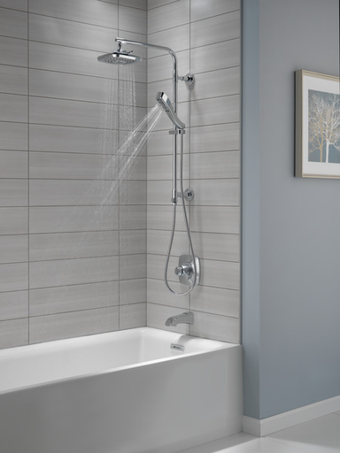 H2Okinetic® 4-Setting Hand Shower - Stainless