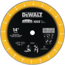 DEWALT DW8500 Chop SawBlade,DeWALT,14 IN Diameter,3/32 INEdge