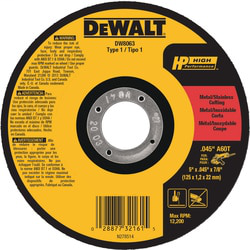 B&D DW8063 5 X 0.045 X 7/8IN METAL