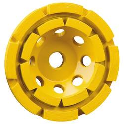 """DEWALT DW4774 4-1/2"""" Double RowDiamond Cup Concrete Grinding Wheel"""