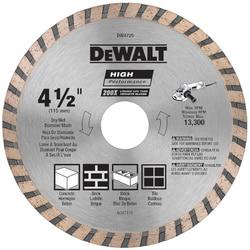 DeWalt DW4725 4-1/2IN HIGH PERFORMANCE