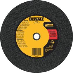 DEWALT DW8001 14 x 7/64 Inch A24R Grit Type 1 Bonded Abrasive Chop Saw Wheel
