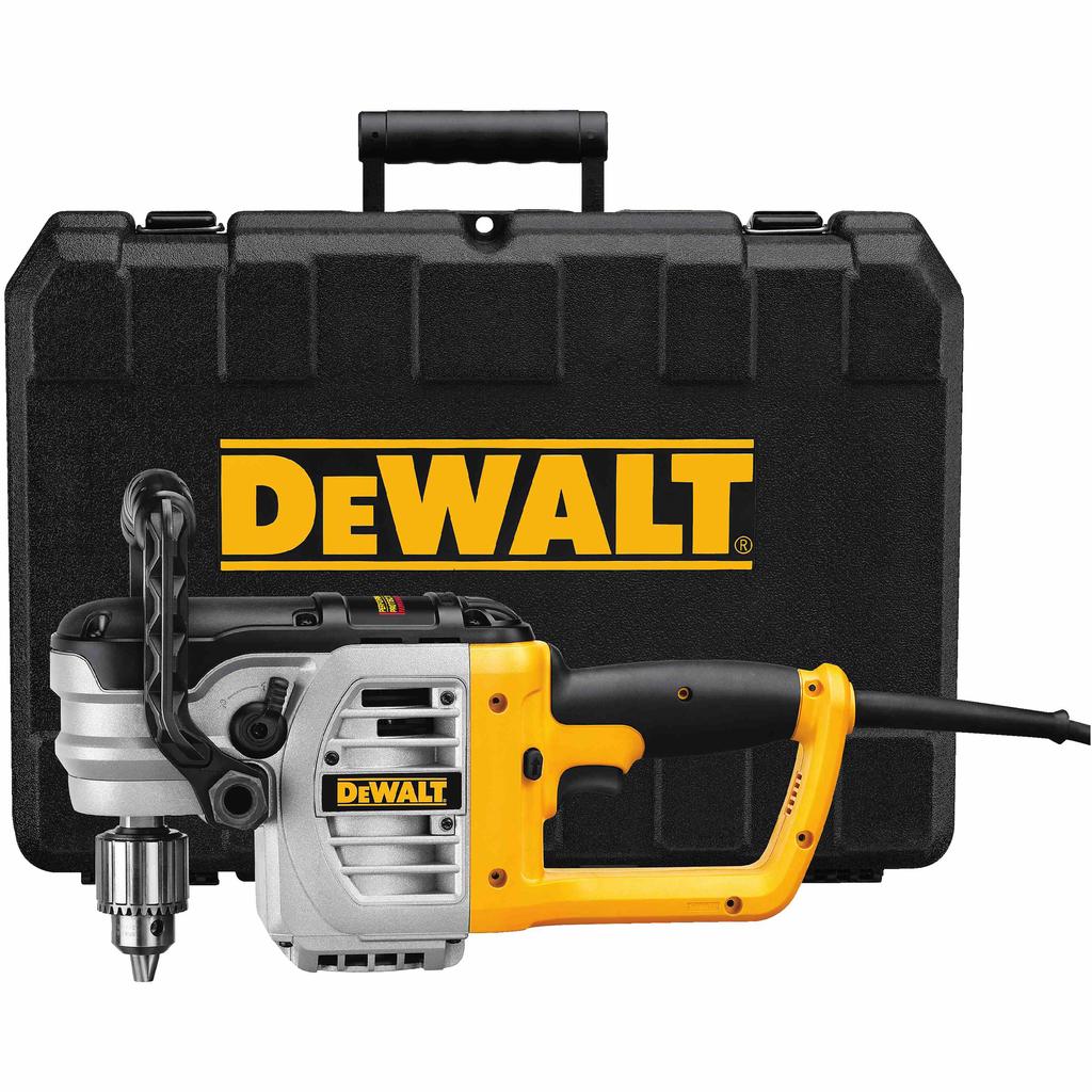 DEWALT DWD460 11 Amp 0 - 330/0-1300 RPM 1/2 Inch Chuck Size VSR Stud and Joist Drill