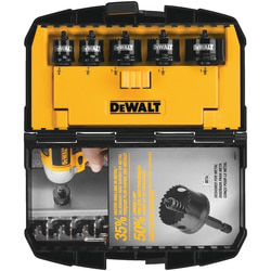 DEWALT D1800IR5 5-Pack Impact Hole Saw Set