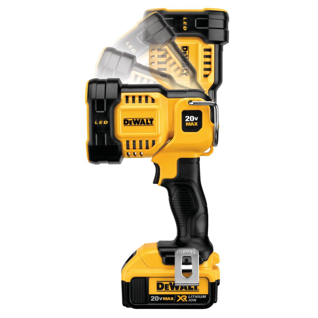 DEWALT DCL043 20 Volt LED Spotlight
