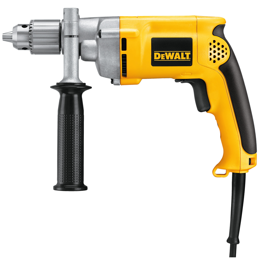"DEWALT DW235G 1/2"" 0-850 Rpm VsrDrill 3 Wire Plug 7.8 Amp"