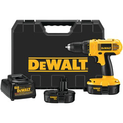 DEWALT DC759KA 18 Volt 1/2 Inch (13 mm) Cordless Compact Drill and Driver Kit
