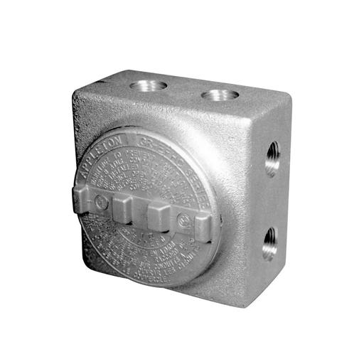 Mayer-Appleton™ GRSS Conduit Outlet Boxes with Multiple Hubs - PN GRSS75-1