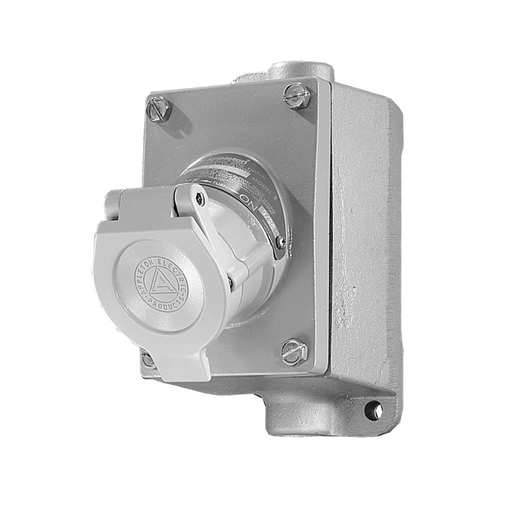 Appleton™ U-Line™ Contender™ Factory Sealed 20 Amp Plugs and Receptacles - PN GFS1 redirect to product page