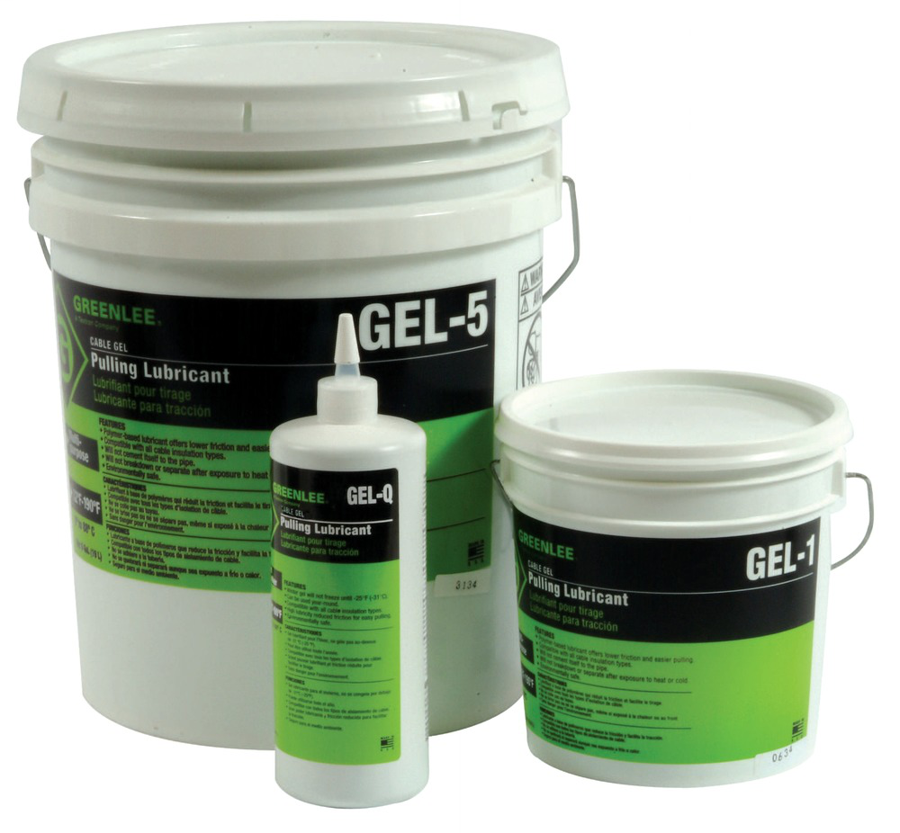 Greenlee GEL-5 Cable-Gel™ Cable Pulling Lubricant, 5-Gallon