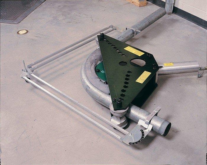 Greenlee 884 1-1/4 to 4 Inch Rigid Aluminum Conduit Bender