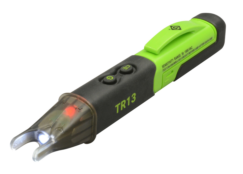 Greenlee TR13 Dual-Tip Non-Contact Voltage Detector, 50V - 1000V