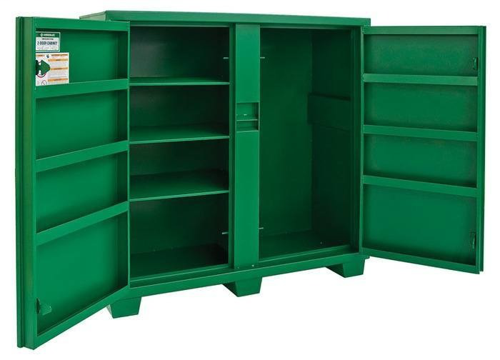 Greenlee 5660LH 60 x 24 x 56 Inch 46 Cubic Foot Hinged/Recessed/Concealed Lock Utility Cabinet
