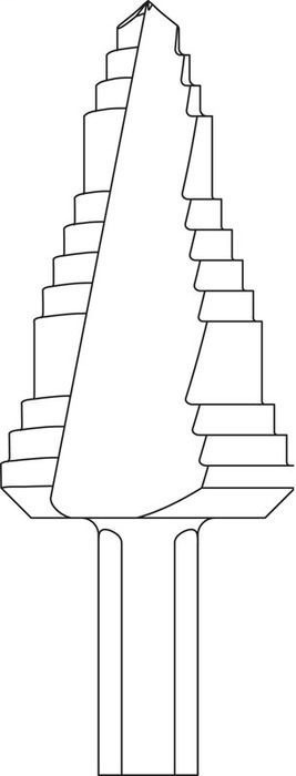 Mayer-#8 K/S Step Bit-1