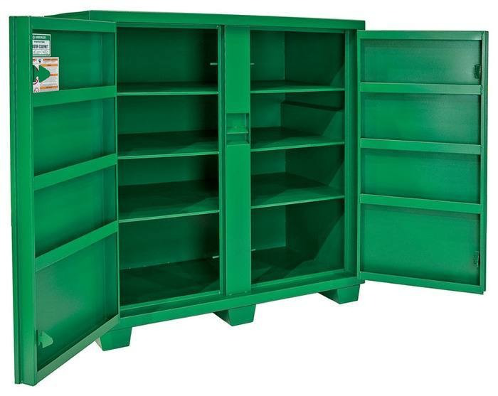 Greenlee 5760TD 60 x 30 x 56 Inch 59.3 Cubic Foot Hinged/Recessed/Concealed Lock Utility Cabinet