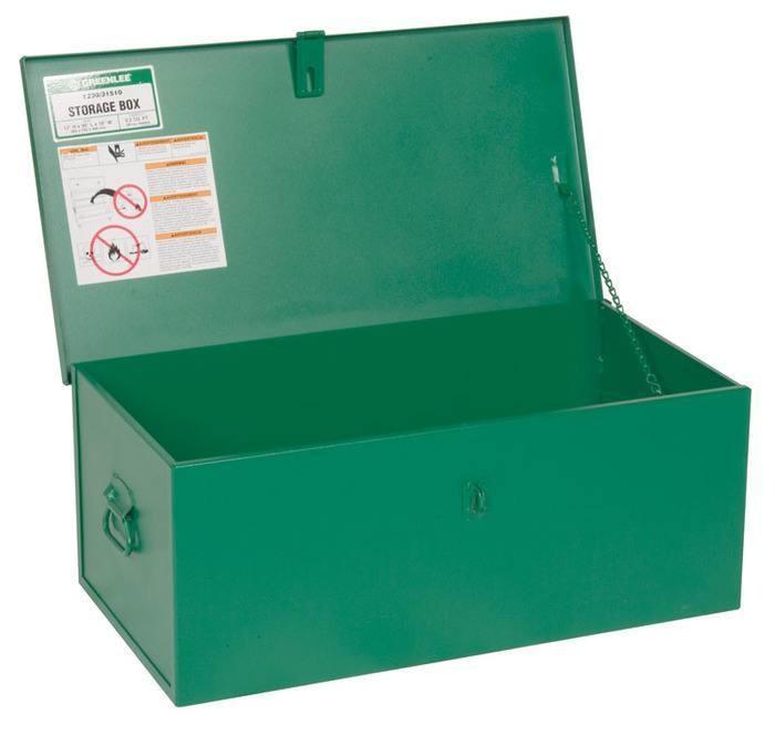 Greenlee 1230 3.3 Cubic Foot Compact Lock Hasp Welder Box