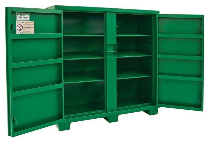 Greenlee 5660L 60 x 24 x 56 Inch 46 Cubic Foot Hinged/Recessed/Concealed Lock Utility Cabinet
