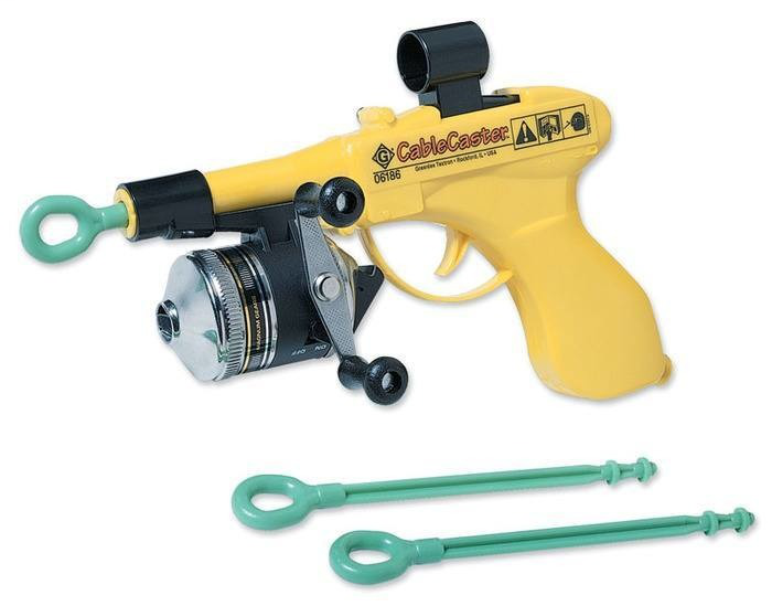 Greenlee 06186 Bright Yellow Wire Pulling Tool
