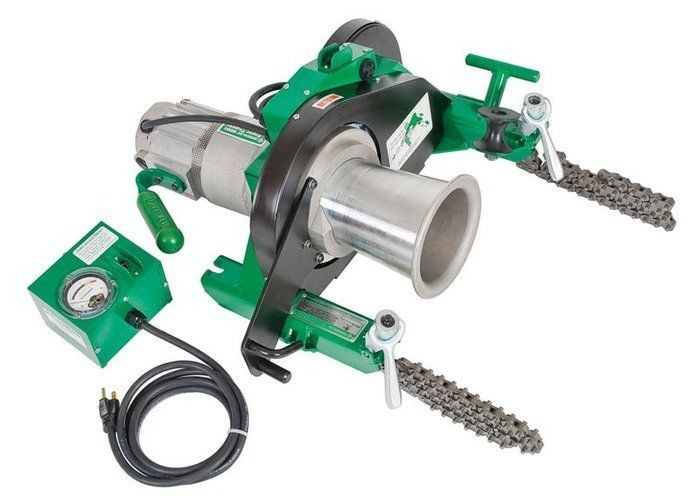 Greenlee 6001 1-1/2 Hp 120 VAC 4500 lb Double Braided Polyester Composite Cable Puller