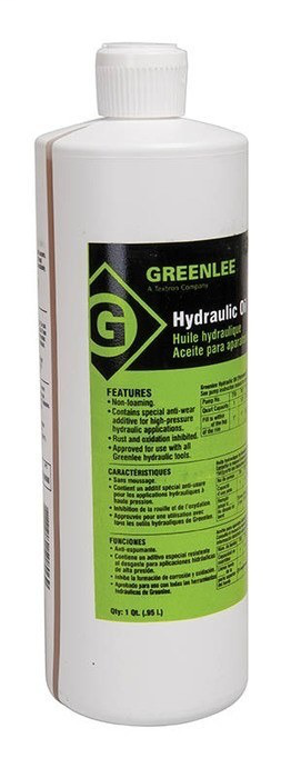 Greenlee 4017GB 1 Quart Hydraulic Oil