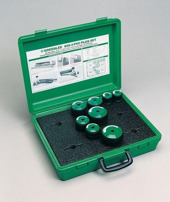 Greenlee 859-4 2 to 4 Inch PVC Plug Set