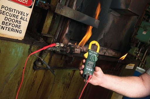 Mayer-600 AMP INDUSTRIAL AC + DC TRUE RMS CLAMP METER - CALIBRATED-1