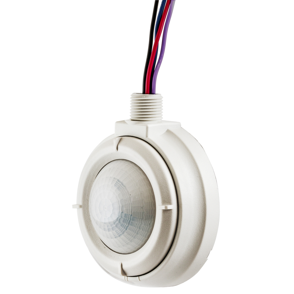 Hubbell Wiring Devices HMHB219 120 to 347 VAC Fluorescent Daylight Harvesting Passive Infrared High Bay Wall Mount Sensor