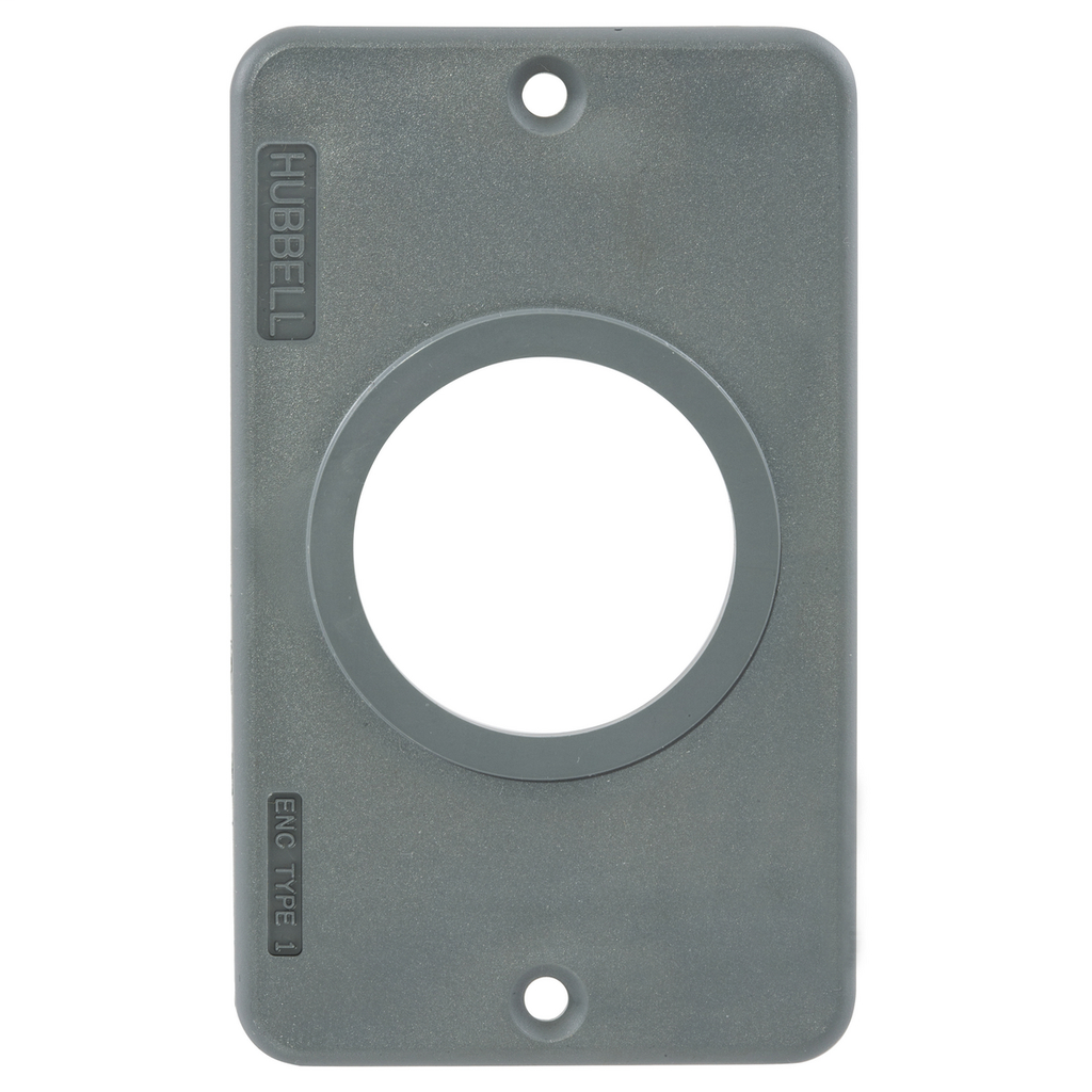 HWDK HBL3052 COVERPLATE, POB, SING,
