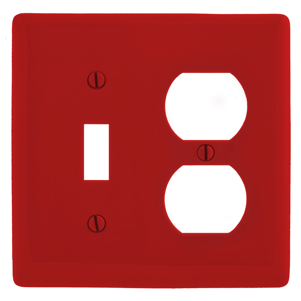 HWDK NP18R WALLPLATE, 2-G, 1) DUP 1