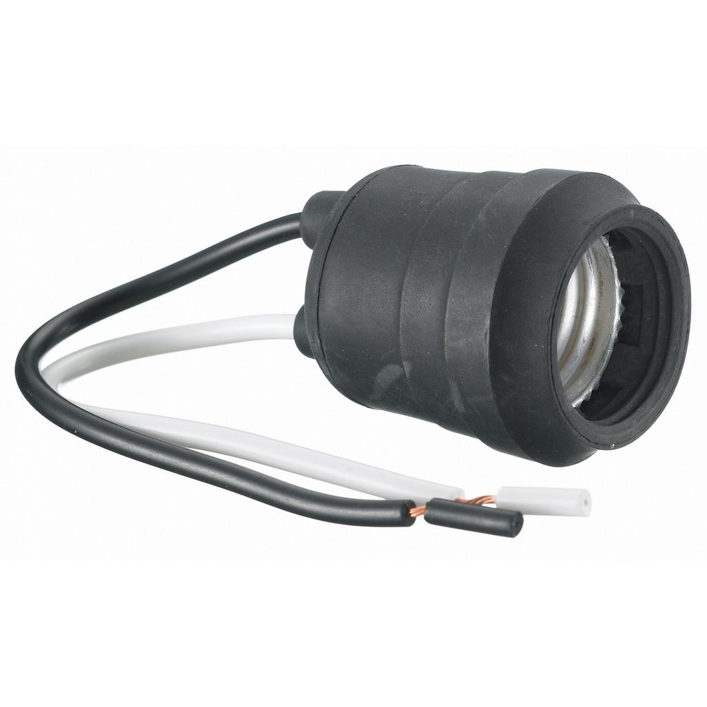 Hubbell RL124 660 W 250 Volt Pigtail Medium Base Incandescent Lampholder