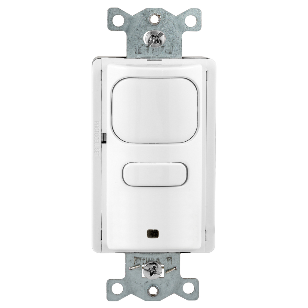 Hubbell AP2000W1 1800 W 120/277 VAC 1000 Square Foot White Passive Infrared Occupancy Sensor Wall Switch