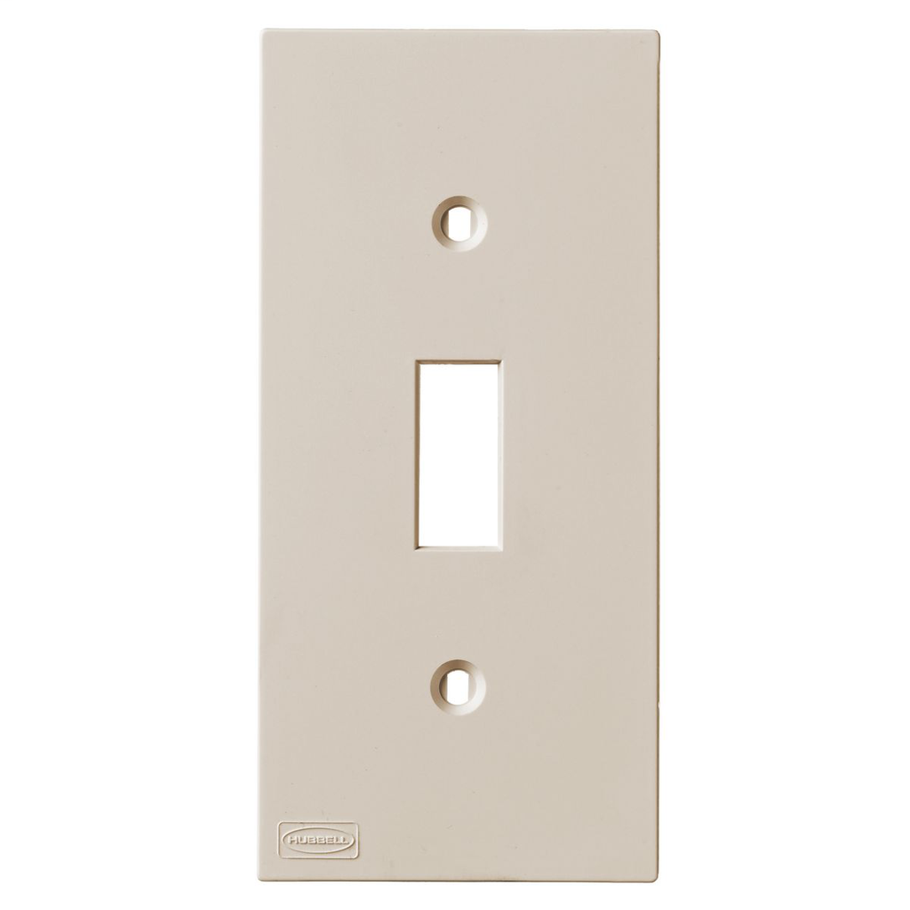 HWDK KP1AL KP TOGGLE PLATE, ALMOND