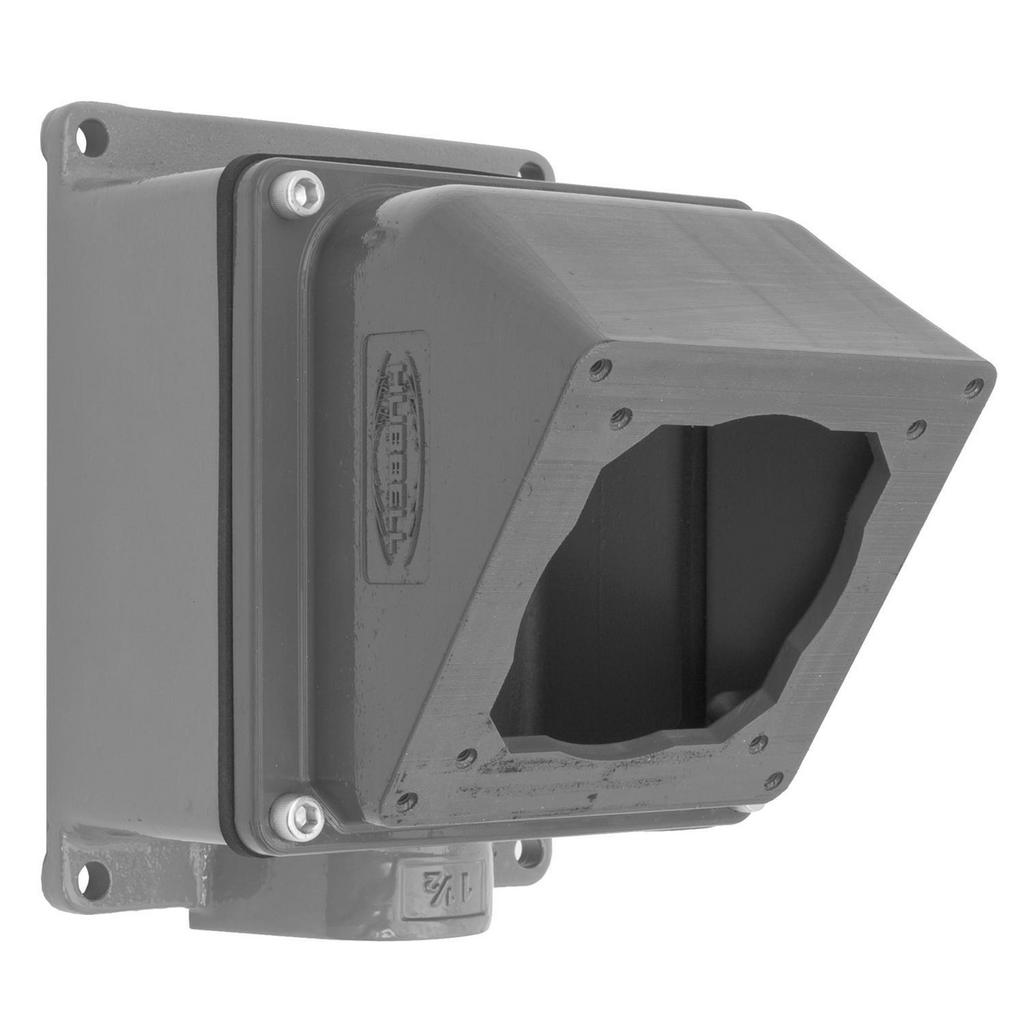 HCI FW6010055 PS, IEC, 4WAY BOX, 60