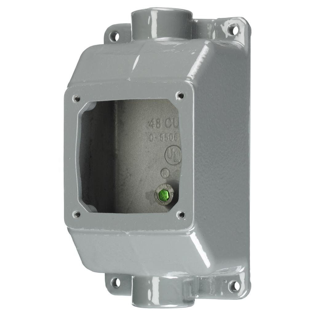 HWDK FT302W PS, IEC, F-THRU BOX, 20