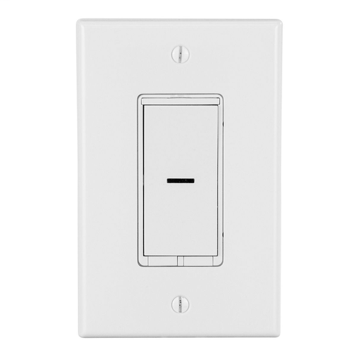 """Mayer-Experience the ultimate in sophisticated design with the devices wall switch. This Wi-Fi enabled smart switch allows for single pole, 3- and 4-way functionality, providing unparalleled flexibility anywhere in your home. Conveniently Schedule and operate lighting, ceiling fans and more with remote access and Siri and Alexa voice control through the devices connected app. Just say, """"Alexa, turn on the hallway light"""", and watch your home come to life. Tech specs input/output: 120-277vac, 50/60Hz resistive: 1800W @ 120-277vac, 15a/6. 5a tungsten: 960W @ 120Vac, 8a tungsten: 1800W @ 277Vac, 6. 5a motor: 1Hp @ 120&277vac ballast: 10a @ 277Vac.-1"""