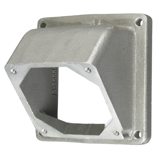Locking Devices, Hubbellock®, Industrial, Cast Aluminum Angled Adapter(45 degree), For 60A Hubbellock®